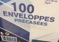 lot revendeur De 400 Enveloppes Précasees Auto Adhésive Ref Rlp920
