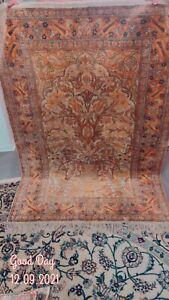 Teppich Kaschmir Seide 180x115 Top Zustand Sehr Fein
