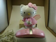 HELLO KITTY PHONE 2002 PINK & WHITE CALLER ID OWNERS MANUAL,EXCELLANT CONDITION,
