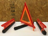 Highway Warning Safety Reflector Triangle Set 64326BX 95-03-010G Cortina