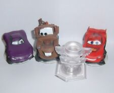 DISNEY INFINITY 1.0 2.0 3.0 Lightning McQueen Mater Holly Figure Lot W Playset