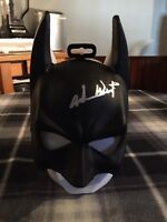 RARE BATMAN MASK SIGNED BY ADAM WEST/ AUTHENICATED BY (JSA AUTHENICATIONS)