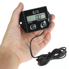 Digital Tach Hour Meter Tachometer Gauge For 2 Stroke & 4 stroke Gas Engines