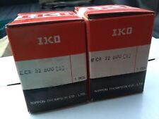 2 NEW IKO CR 32 BUU Heavy Duty Cam Followers/Roller Bearing OEM Genuine