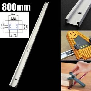 800mm T-Track T-Slot Aluminium Miter Jig Table Router Workshop Woodworking Tool