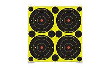 "Birchwood Casey Self Adhesive Paper 3"" Bullseye Targets Black 240/Pk 34375-90"