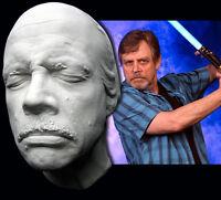 Mark Hamill Star Wars Luke Skywalker Life Mask Mustache Older Wiser Jedi