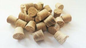 25mm European Oak Tapered Pellets/Plugs