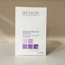 REVLON Gentle Meches System - Specific Highlights Cream 5 levels - 6 doses***NIB