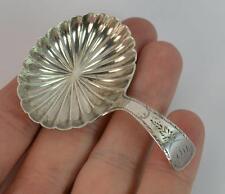 1806 Georgian Solid Silver Tea Caddy Spoon - Jospeh Willmore