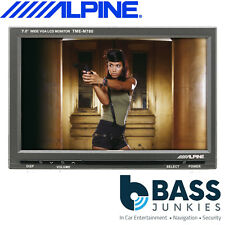 "Alpine TME-M780 - 7"" Car Audio Widesceen Monitor and Headrest Installation kit"