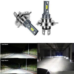2X H4 High Low Beam Headlights For Mazda BT50 BT-50 UR 2015-2018 6000K LED Bulbs