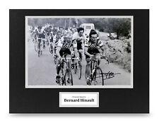 Bernard Hinault Signed 16x12 Photo Display Tour de France Autograph Memorabilia