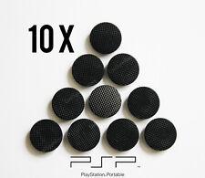 10 x Black PSP Analog Joystick Button Caps (PSP 1000, 1003, 1004) UK Dispatch