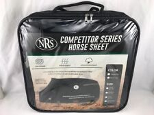 "Competitor Series Stable Sheet NRS Black & Gray 76""-78"" New Weather Resistant"