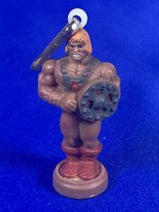 Masters Of The Universe He Man Zipper Clip. Mini Figure 1985 MOTU