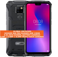 DOOGEE S68 PRO RUGGED 6gb 128gb Waterproof 21mp Fingerprint Android Smartphone