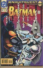 Batman 1940 series # 502 Direct sales UPC code very fine comic book