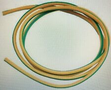 PVC earth Sleeving Yellow/Green 3mm  various length (elec/ electrical wiring)