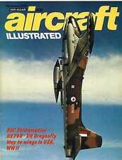 Aircraft Illustrated 1975 November HS748,BAC Strikemaster,DH90 Dragonfly,USAAF
