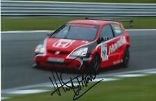 ANDY PRIAULX HAND SIGNED HONDA 6X4 PHOTO TOURING CARS AUTOGRAPH 2.