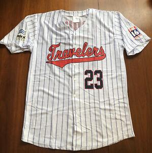 Rare Mike Trout Jersey Arkansas Travelers Promo Large Minor League MLB