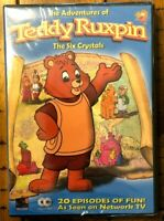 Adventures of Teddy Ruxpin - The Six Crystals [DVD] New / Sealed - Free Shipping