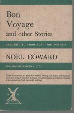NOEL COWARD BON VOYAGE & OTHER STORIES UNCORRECTED PROOF COPY FIRST ED PB 1967