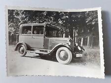 Original-Foto Auto Oldtimer Opel Vorkrieg