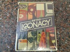 Retro Lunacy Fluxx Card Game - Looney Labs Games 857848004222 Sealed New