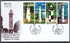 Sri Lanka Stamp Lighthouses of Sri Lanka First Day cover 2018
