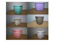 Plastic Laundry Basket Detergent Storage Box Tidy Washing Tablet Tub Organizer