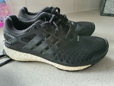 Adidas Energy Boost Tech fit UK 6 BLACK TRAINERS