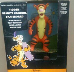 Disney TIGGER Skateboard Remote Control Disney Store c.1999 _ NEW IN BOX Rare