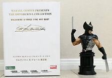 2 Kotobukiya busts WOLVERINE  X-Force SDCC Exclusive HAVOK  X-Men