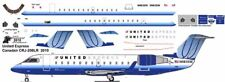 United Express OC  CRJ 200 Pointerdog7 decals for Welsh 1/144 kit