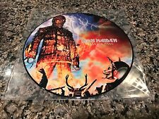 Iron Maiden The Wicker Man Picture Disc! Limited! Judas Priest Ozzy Metallica