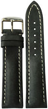 22x18 RIOS1931 for Panatime Stone Vintage Watch Strap w/Buckle for Breitling