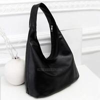 Women's PU Leather Tote Shoulder Bag Hobo Handbags Satchel Messenger Bag Purse