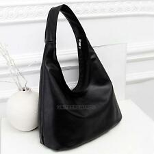 Women's PU Leather Tote Shoulder Bag Hobo Handbags Satchel Messenger Bag Purse