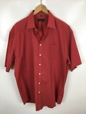 Bexley'S MAN Chemise, Rouge, Taille XL