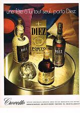 PUBLICITE  1974   DIEZ  porto vin apéritif