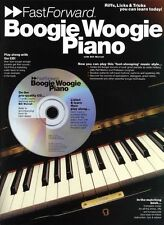 Boogie Woogie Piano Fast Forward Music Book CD Lesson
