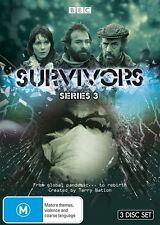 Survivors : Series 3 (DVD, 2014, 3-Disc Set) Brand New (D115)