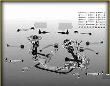 Set bracci oscillanti 12 pz per AUDI A4 B5 e A6 C5 VW PASSAT 3B