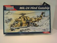 Model Kit Monogram Mil-24 Hind Gunship 1995 NIB 5819