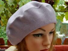 Ladies hat Beret in Lilac Hat Cap