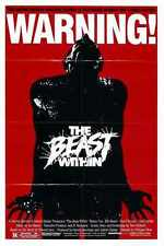 Beast Within Poster 01 A3 Box Canvas Print
