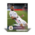 Topps Now UCL 2020-21 - Card 038 - Karim Benzema - 50 UCL Goals - Real MadridTrading Card Einzelkarten - 261328