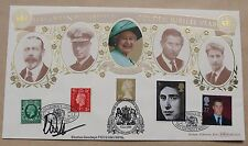 GOLDEN JUBILLE 2002 BENHAM FDC SIGNED THE KEEPER OF ROYAL PHILATELIC COLLECTION